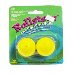 Rollsters - Cat Nip Filled Balls - 2 Pack