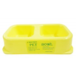 Two Section Pet Bowl