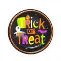 "Halloween ""Spooky Treat"" Paper Plates (6 3/4"") - 8 cnt"