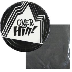 Over the Hill Disposable Party Supplies