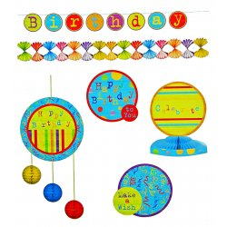 Party Like Crazy! Birthday Party Decoration Kit