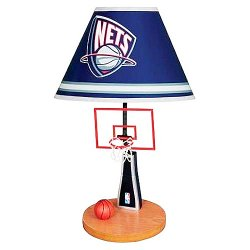NJ Nets Officially Licensed NBA Lamp