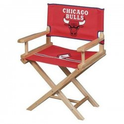 Chicago Bulls Youth Directors Chair - Official NBA Licensed Product