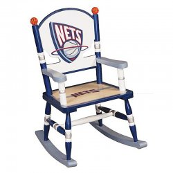 New Jersey Nets Rocking Chair