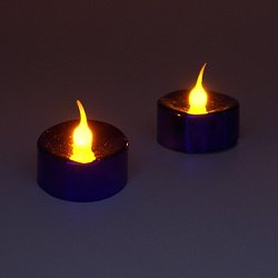 LED Tealights with Batteries- 2 Pack