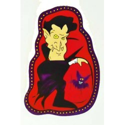 Halloween Serving Dish - Dracula Food and Snack Serveware