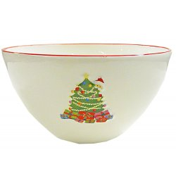 Dale and Thomas Christmas Serving Bowl