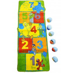 Sesame Street Activity Rug - Game Area Rug Mat