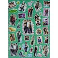 Jonas Brothers Camp Rock Stickers Collection