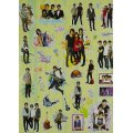 Jonas Brothers Magic Stickers Set