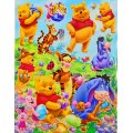 Winnie the Pooh and Friends Decal Sticker Set