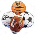 "16"" Sport Themed Inflatable Beach Balls - 12cnt. (1 Dozen)"