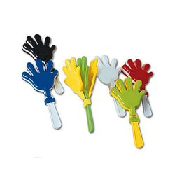 "Hand Clappers -7.5"" Multicolor - 12 Count"