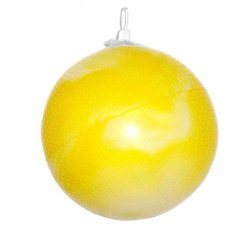 "Yellow 10"" Inflatable Ball"