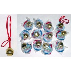 Jingle Bell Necklaces - 12 Cnt